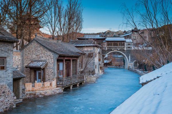 古水北镇攻略两天一夜,长城下泡汤体会不一样的冬日