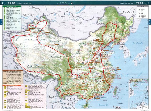 看看老伴带我房车自驾环游中国要走一年的路线图,第一站景德镇