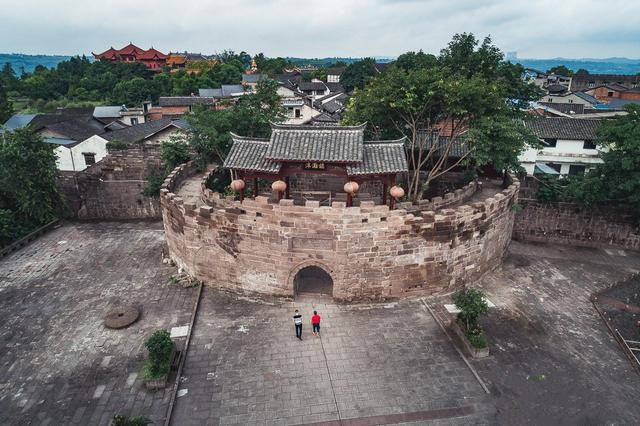 在重庆这座古镇惊艳了时光,也满足了我对古镇的所有向往