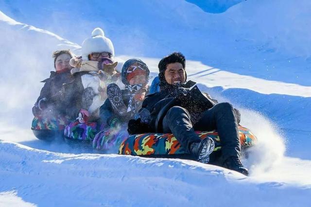 无冰雪,不冬天!2020武威天梯山景区冰雪嘉年华