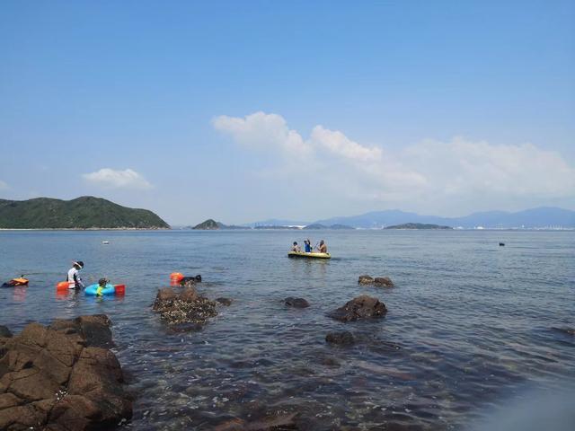 螃蟹和各种螺贝丰富的白沙洲岛,小朋友都能满载而归