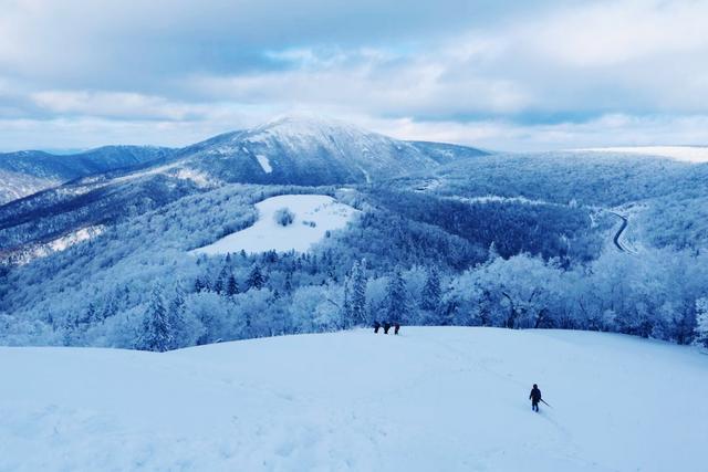 冬天不去登雪山春天怎么会来