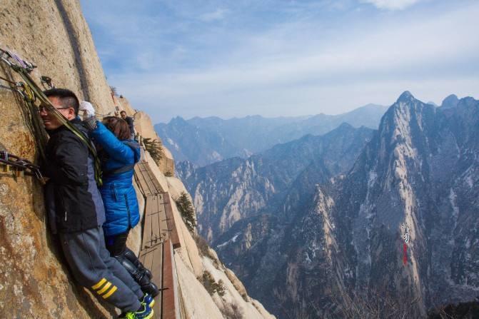 夜爬华山五峰旅游攻略,以最经典的方式游历华山