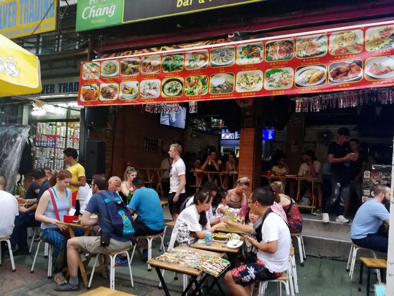 吃了这么多的泰国小吃,完全因为不懂当地语言(泰国路边小吃美食)